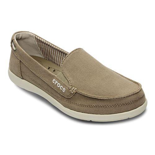 9be4fb5f47c Crocs Walu Canvas Loafers - Women