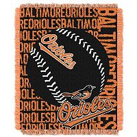 Baltimore Orioles Jacquard Throw by Northwest