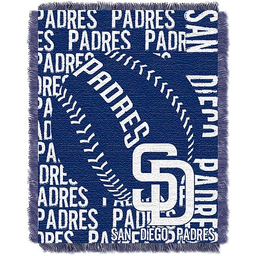 San Diego Padres Jacquard Throw by Northwest