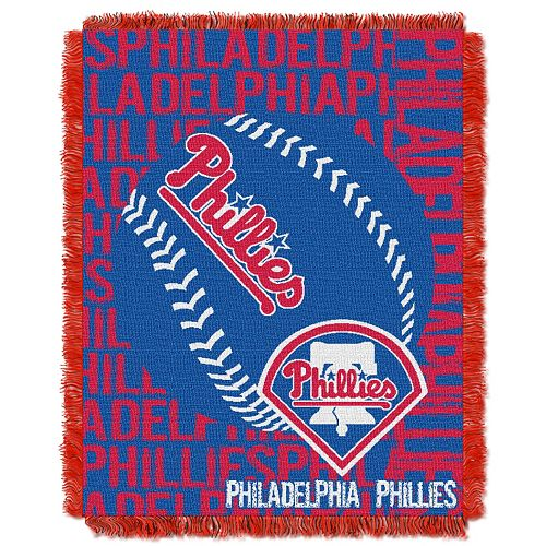 Philadelphia Phillies Jacquard Throw by Northwest