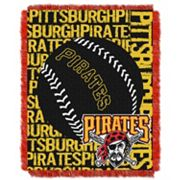 Pittsburgh Pirates Jacquard Throw by Northwest