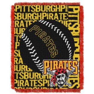 Pittsburgh Pirates Jacquard Throw by Northwest