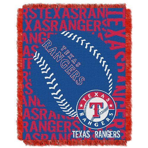 Texas Rangers Jacquard Throw by Northwest