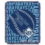 Tampa Bay Rays Jacquard Throw by Northwest