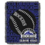 Colorado Rockies Jacquard Throw by Northwest