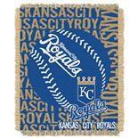 Kansas City Royals Jacquard Throw by Northwest