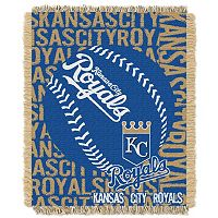 Kansas City Royals Jacquard Throw by Northwest
