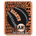 San Francisco Giants Jacquard Throw by Northwest