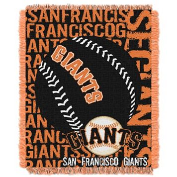 San Francisco Giants Jacquard Throw by Northwest