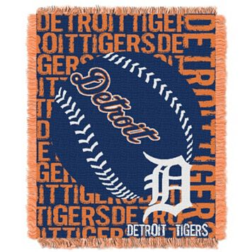 Detroit Tigers Jacquard Throw by Northwest