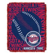 Minnesota Twins Jacquard Throw by Northwest
