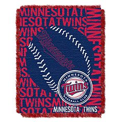 Minnesota Twins Jacquard Throw by Northwest