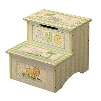 Teamson Kids Animal Storage Step Stool
