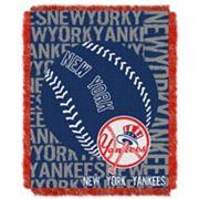New York Yankees Jacquard Throw by Northwest