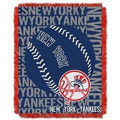 New York Yankees Jacquard Throw by Northwest