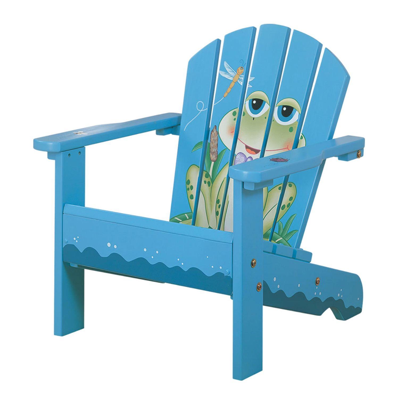 Good Teamson Kids Frog Porch Chair