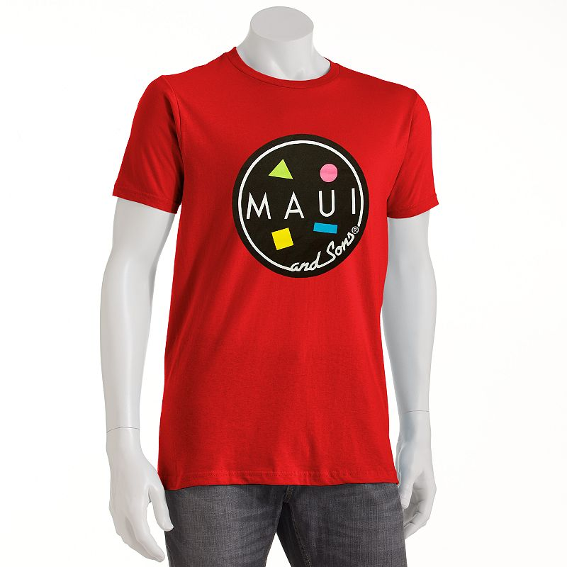 MAUI and Sons Logo Tee - Big and Tall