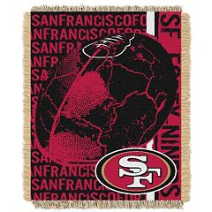 San Francisco 49ers Jacquard Throw