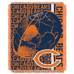Chicago Bears Jacquard Throw