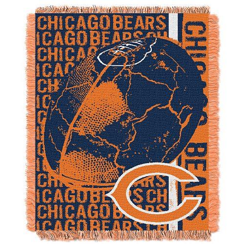 Chicago Bears Jacquard Throw