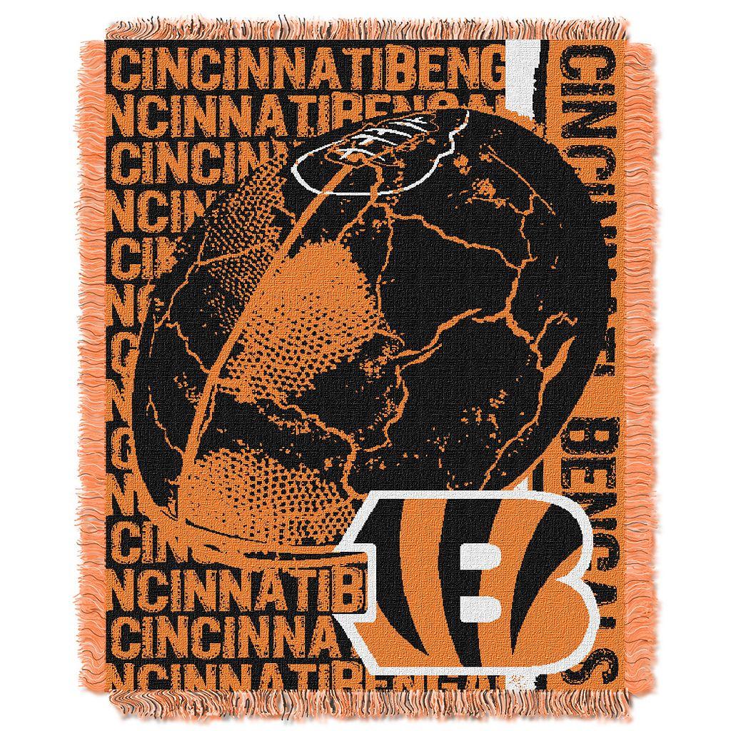 Cincinnati Bengals Jacquard Throw