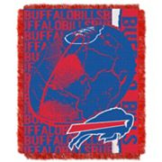 Buffalo Bills Jacquard Throw