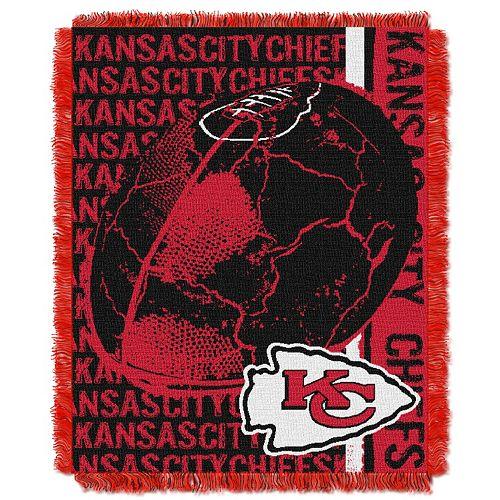Kansas City Chiefs Jacquard Throw