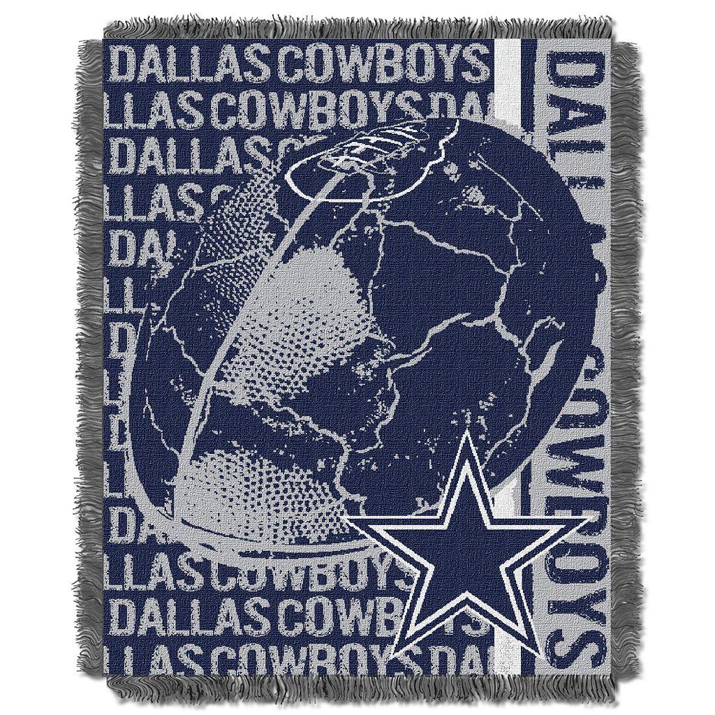 Dallas Cowboys Jacquard Throw