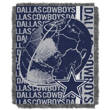 Dallas Cowboys Jacquard Throw