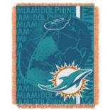 Miami Dolphins Jacquard Throw