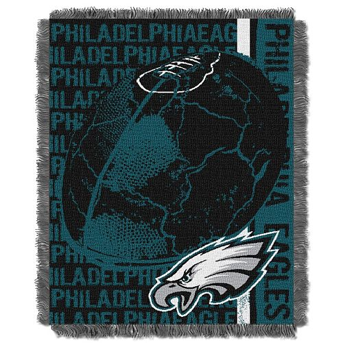 Philadelphia Eagles Jacquard Throw