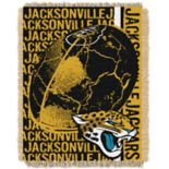 Jacksonville Jaguars Jacquard Throw