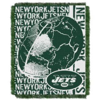 New York Jets Jacquard Throw