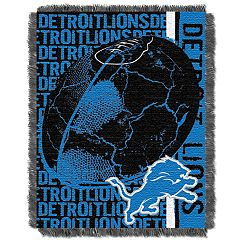 Detroit Lions Jacquard Throw
