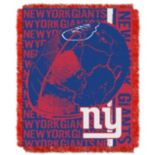 New York Giants Jacquard Throw