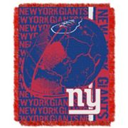 New York Giants Jacquard Throw