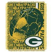 Green Bay Packers Jacquard Throw