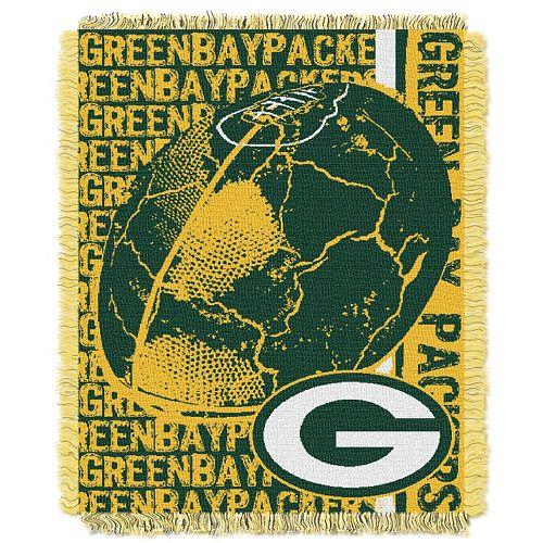 Green Bay Packers Jacquard Throw
