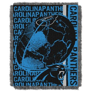 Carolina Panthers Jacquard Throw