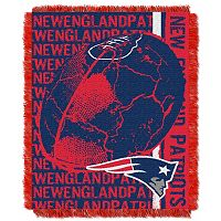 New England Patriots Jacquard Throw