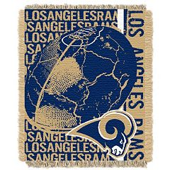Los Angeles Rams Jacquard Throw