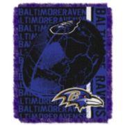 Baltimore Ravens Jacquard Throw