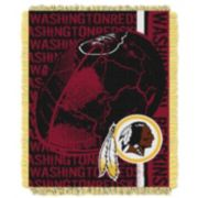 Washington Redskins Jacquard Throw