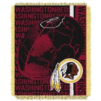 Washington Redskins Jacquard Throw