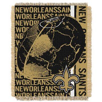 New Orleans Saints Jacquard Throw