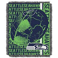 Seattle Seahawks Jacquard Throw