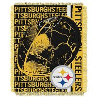 Pittsburgh Steelers Jacquard Throw