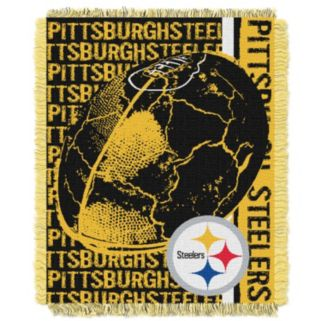 Pittsburgh Steelers Jacquard Throw