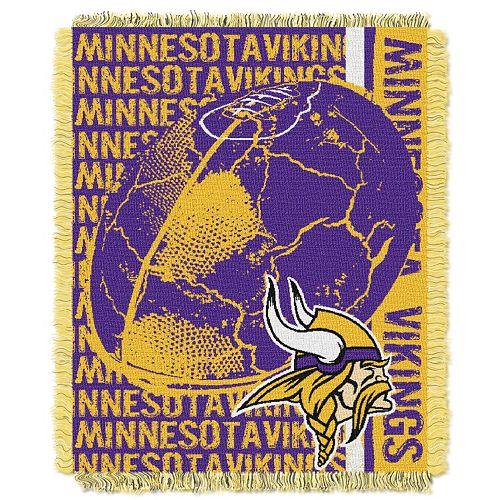 Minnesota Vikings Jacquard Throw