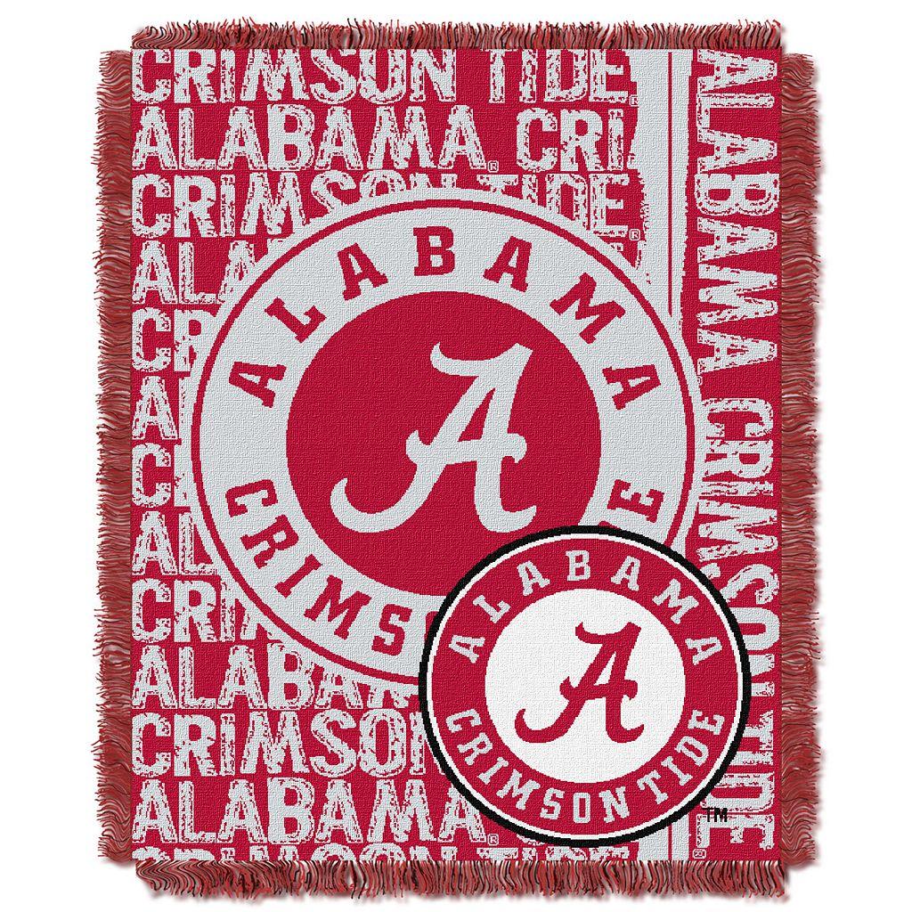 Alabama Crimson Tide Jacquard Throw Blanket by Northwest